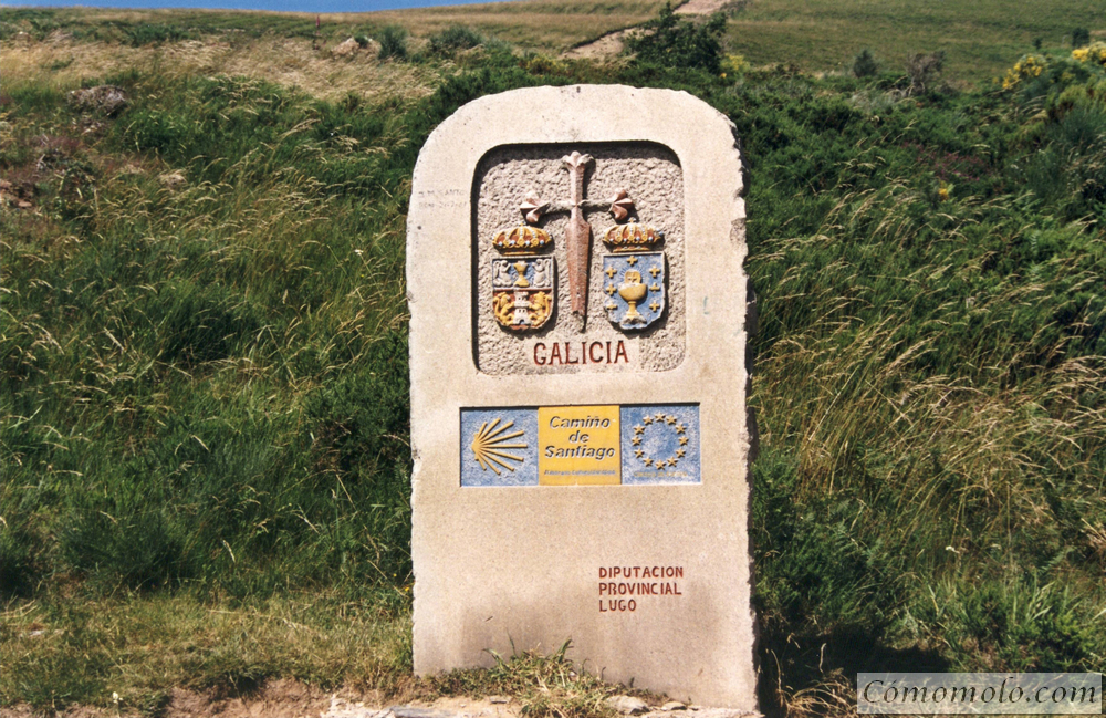 Entrada en Galicia.