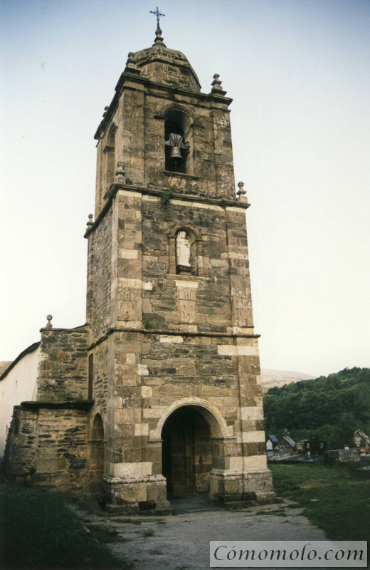 Iglesia del Apostol en Triacastela