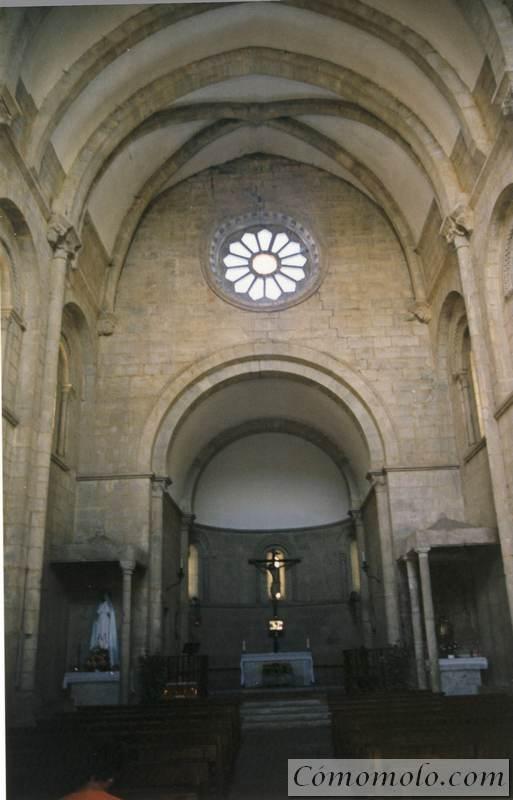 Iglesia de San Nicolás, en Portomarin