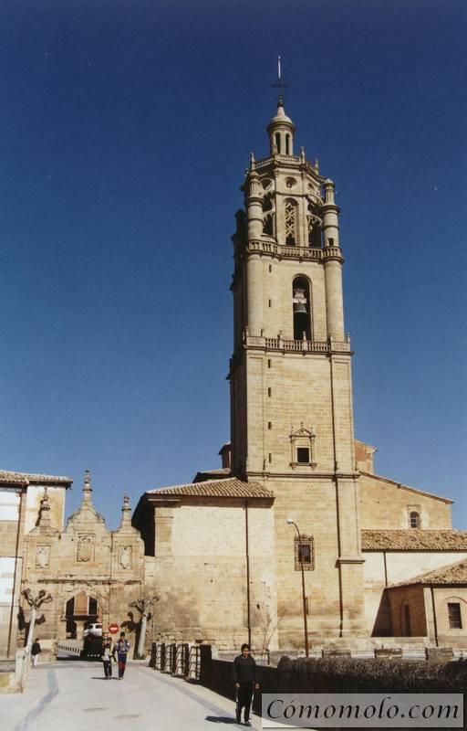Iglesia de Santa Maria y Portal de Castilla. Los Arcos