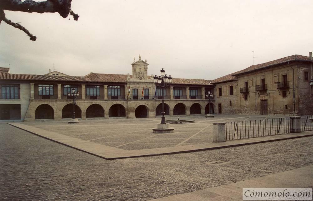 Plaza de España. Santo Domingo de la Calzada