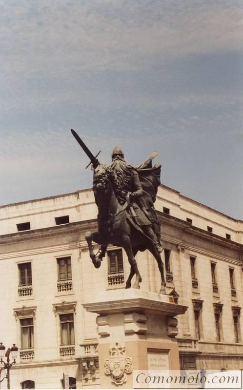 Estatua Cid Campeador. Burgos